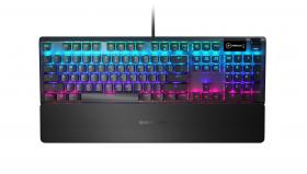 Steelseries Apex 5 Hybrid Mechanical Gaming keyboard Black UK
